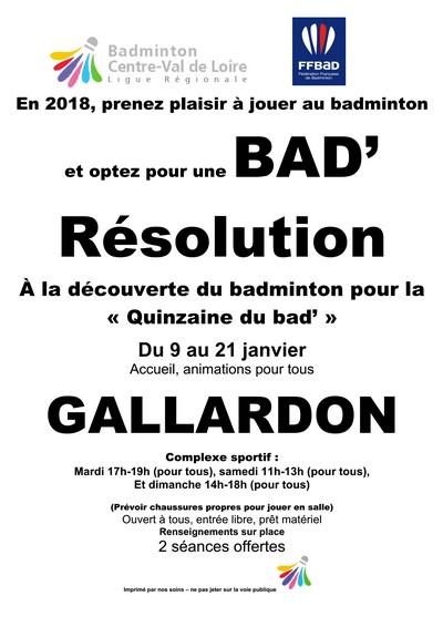 BadResolution - La PLume de Gallardon - LPG28
