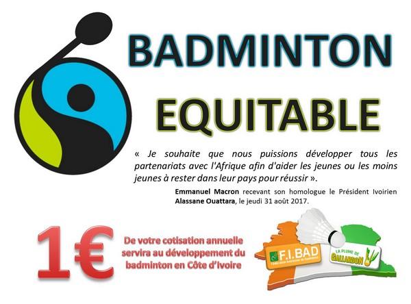 Badminton equitable - La Plume de Gallardon - LPG28