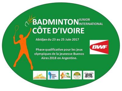 Côte d'Ivoire Badminton International Junior - La Plume de Gallardon - LPG28