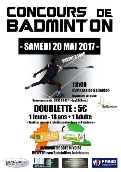 Concours de badminton - La Plume de Gallardon - LPG28