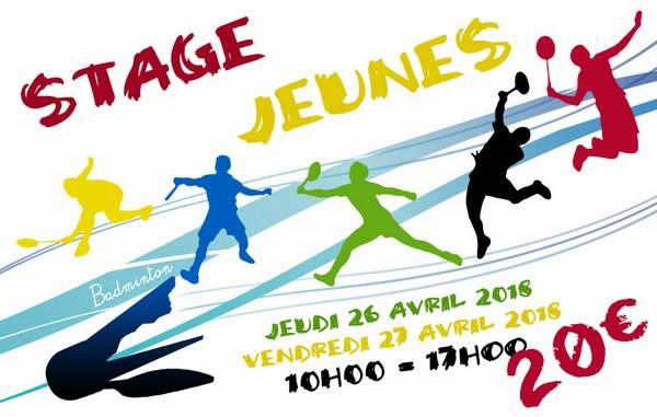Stage badminton jeunes 2 - La Plume de Gallardon - LPG28